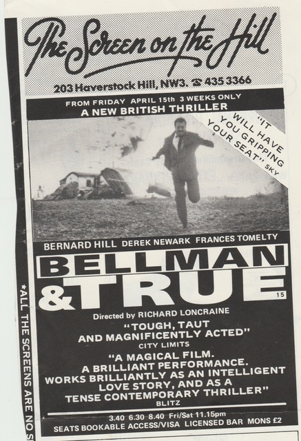 Bellman and True 1987